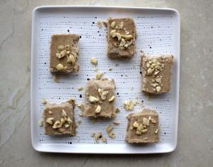 Almond Butter Vanilla Fudge