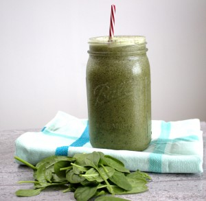 Green dairy free smoothie