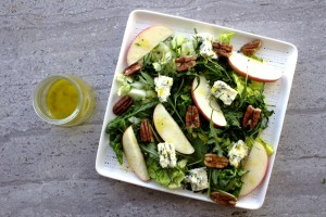Blue Cheese, Apple and Pecan Salad