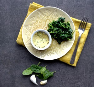 Sautéed Garlic Spinach