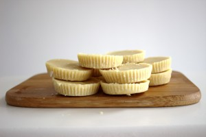 White Chocolate Cups