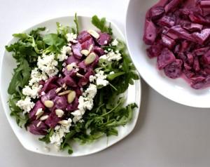 Beetroot and Yoghurt Salad